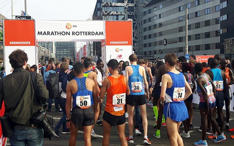 De spanning stijgt in Rotterdam